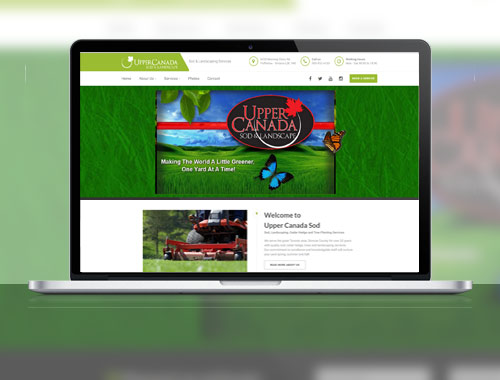 Upper Canada Sod Website